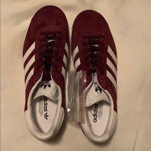 Adidas Gazelle Maroon size 5 1/2 US